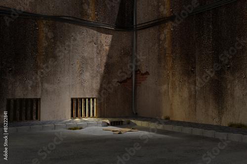 Tela Dark alley