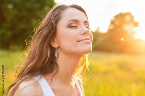 Fotografia Women, Healthy Lifestyle, Sun.