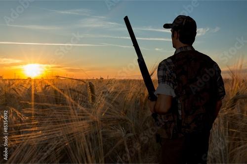 Fotografia Hunting, Hunter, Shotgun.