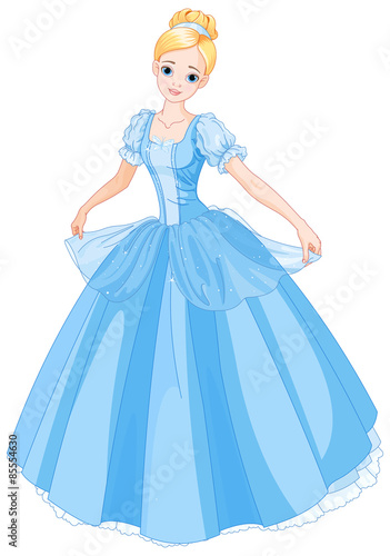 Canvastavla Cinderella