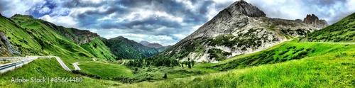 Obraz na płótnie Zapierająca dech w piersiach panorama gór Dolomity we Włoszech