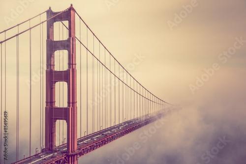 Golden Gate Into the Fog #85695619