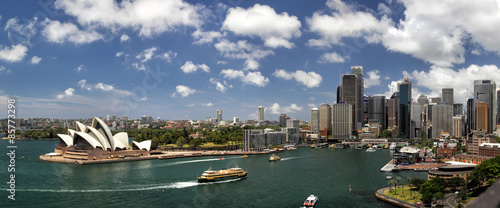 Canvas Print Sydney Panorama
