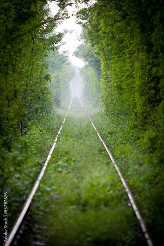 Love tunnel in Romania