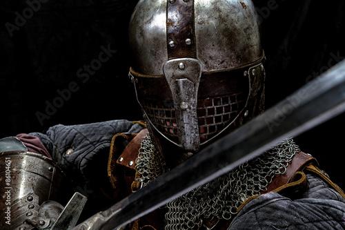 Carta da parati Knight