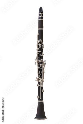 Valokuva clarinet isolated under the white background