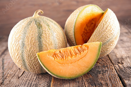 Photo fresh melon