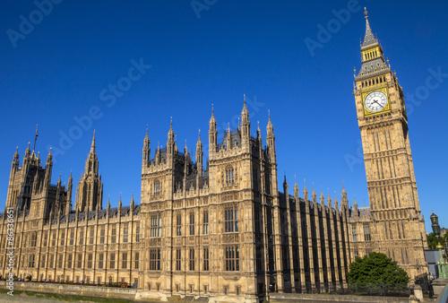Obraz na plátně Palace of Westminster in London