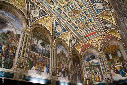 Fototapeta Piccolomini Library in Siena Cathedral