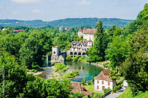 Photo Pont de la Legende on the Gave d'Oloron