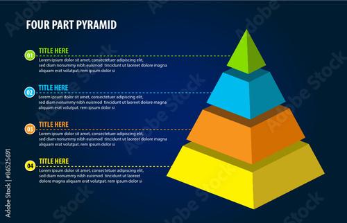 Fotografie, Obraz Pyramid
