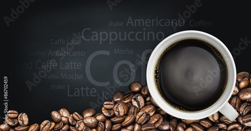 beverage coffee and tea background #86702459