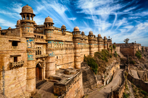 Fotografia, Obraz Gwalior fort