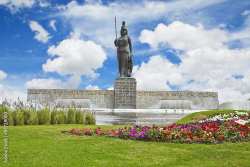Obraz na plátně La Minerva monument in Guadalajara