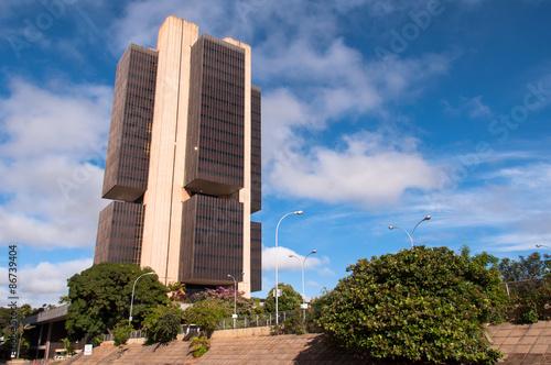 Central Bank of Brazil Headquarters Building in Brasilia
