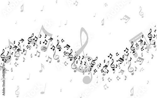 Musical notes #86814076