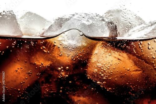 Fotografie, Obraz Soda, cola, studený nápoj.