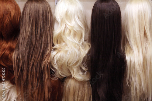 Fotografia Wigs Set