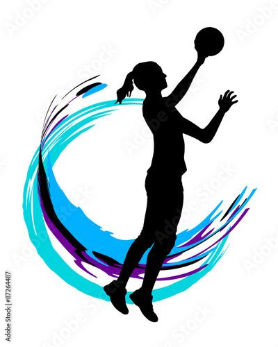 Obraz na plátně Volleyball - 88