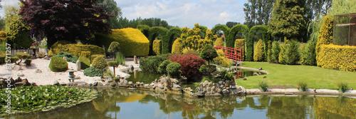 Fototapeta premium Japoński ogród krajobrazowy