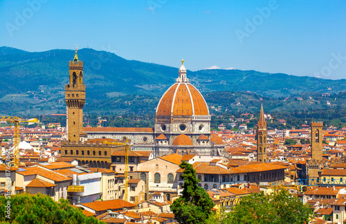 Fotografiet Florence, Cathedral of Santa Maria del Fiore