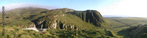 Obraz na plátne hills and cliffs on the Isle of Islay
