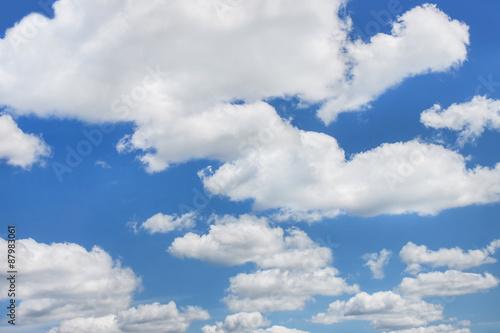 Fototapeta premium Niebo i chmury