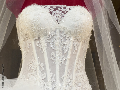Wedding Dress Fototapete