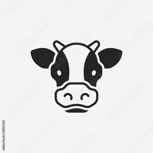 Photo cow icon