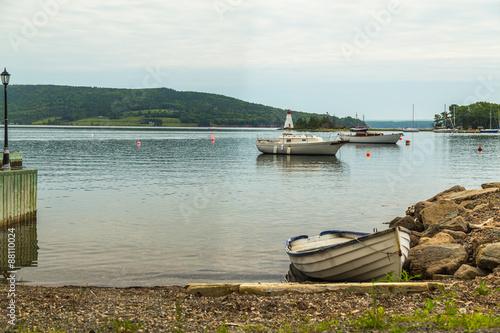 Canvastavla Boats at the Baddeck Waterfront