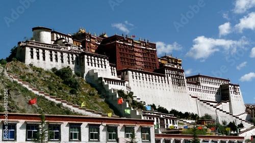 Obraz na płótnie Potala Palace, Lhasa, Tibet