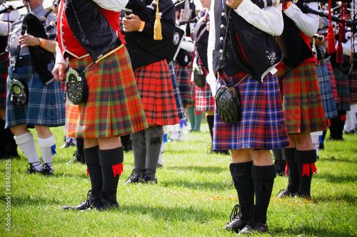 Carta da parati Scottish bagpipe