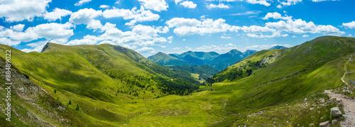 Fotografie, Obraz Mountain valley