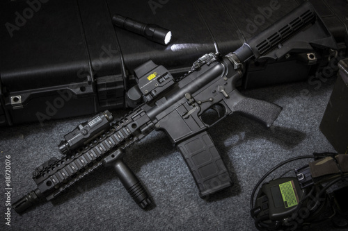 Obraz na plátně assult rifle