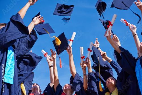 Foto High-School-Absolventen Studenten
