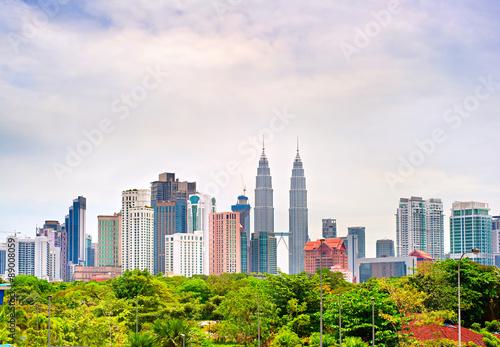 Kuala Lumpur Downtown, Malaysia