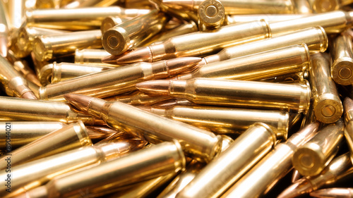 Stampa su Tela Rifle ammo background