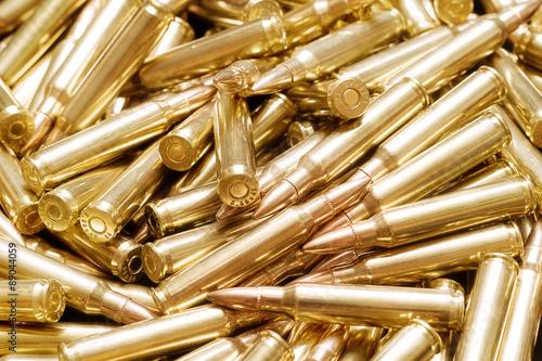 Foto Golden ammo background