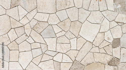 Photo Marble mosaic texture