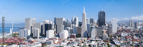 Canvas Print San Francisco Panorama