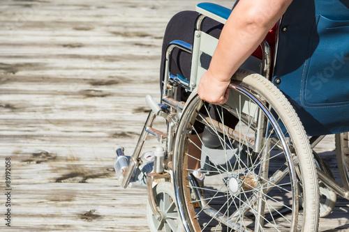 Fotografia Self Propelled Wheelchair