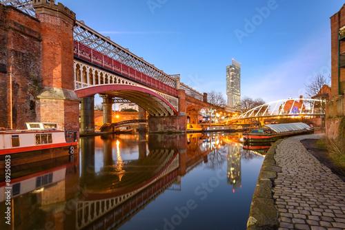 Castlefield, Manchester, England Fototapet