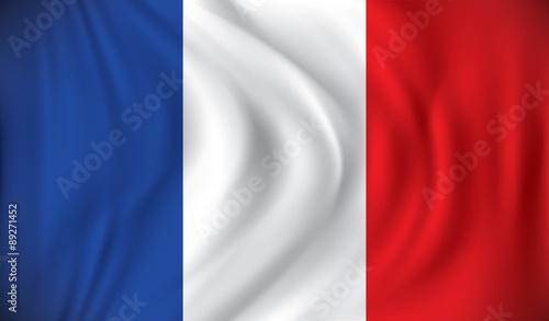 Photo Flag of France