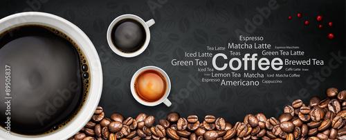 Fotografía coffee backgrond