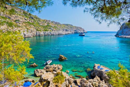 Fotografia Anthony Quinn Bay Rhodes Greece