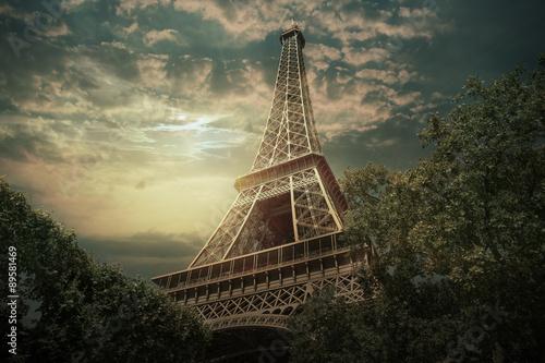 Naklejki na meble Wieża Eiffla we Francji