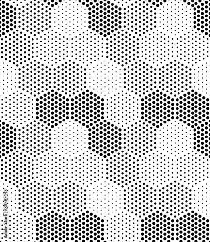Hexagon Illusion Pattern