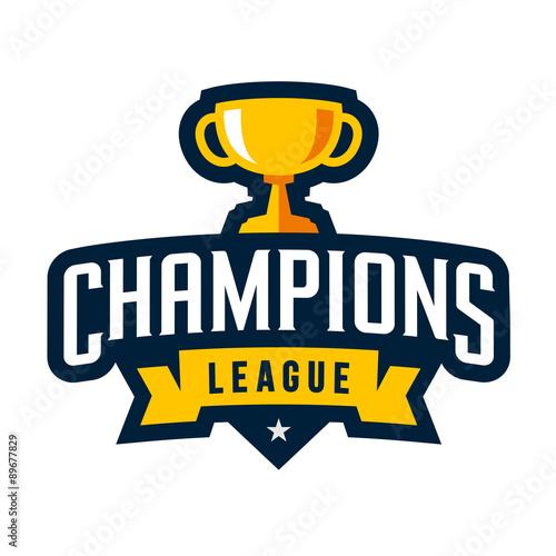 Fotografia, Obraz Sports champions emblem