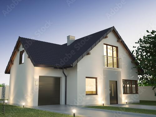 Family house Fototapet