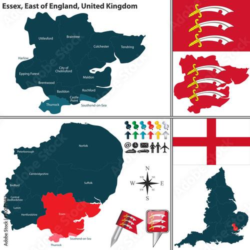 Платно Essex, East of England, UK